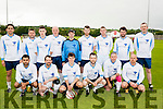 The Bon Secure hospital, Tralee who lined out against UHK in a charity match last Friday evening at Tralee Dynamos pitch, Mounthawk, Tralee.