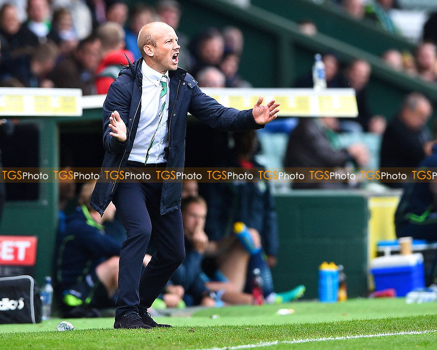 Yeovil Town Manager Darren Way during Yeovil Town vs Wycombe Wanderers, Sky Bet EFL League 2 Football at Huish Park on 8th October 2016