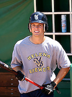 Cutter Dykstra / Helena Brewers ..Photo by:  Bill Mitchell/Four Seam Images