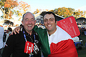 Francesco Molinari of Team Europe with Denis Pugh  during the sunday singles of the 39th Ryder Cup matches, Medinah Country Club, Chicago, Illinois, USA.  28-30 September 2012 (Picture Credit / Phil Inglis)