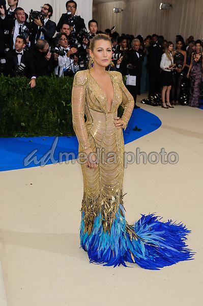 01 May 2017 - New York, New York - Blake Lively. 2017 Metropolitan Museum of Art Costume Institute Benefit Gala at The Metropolitan Museum of Art. Photo Credit: Christopher Smith/AdMedia