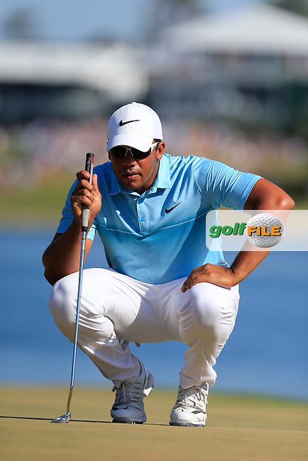 Jonathan Vegas (VEN) during round 3 of the Players, TPC Sawgrass, Championship Way, Ponte Vedra Beach, FL 32082, USA. 14/05/2016.<br /> Picture: Golffile | Fran Caffrey<br /> <br /> <br /> All photo usage must carry mandatory copyright credit (&copy; Golffile | Fran Caffrey)