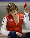 Nederland, Heerenveeen, 09-01-2005. Mark Tuitert onttroond als europees kampioen schaatsen. foto  Michael Kooren.