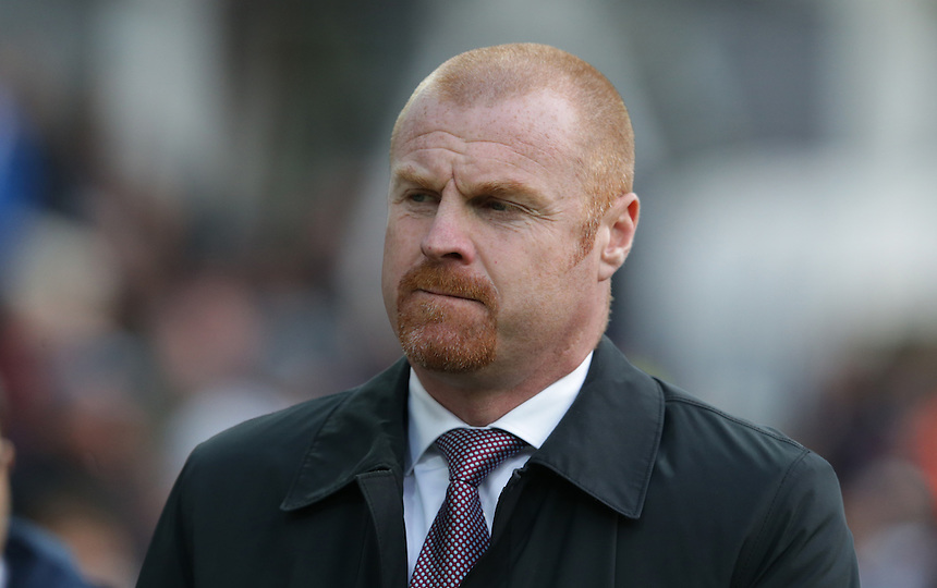 Burnley manager Sean Dyche <br /> <br /> Photographer Stephen White/CameraSport<br /> <br /> Football - The Football League Sky Bet Championship - Preston North End v Burnley - Friday 22nd April 2016 - Deepdale - Preston <br /> <br /> &copy; CameraSport - 43 Linden Ave. Countesthorpe. Leicester. England. LE8 5PG - Tel: +44 (0) 116 277 4147 - admin@camerasport.com - www.camerasport.com