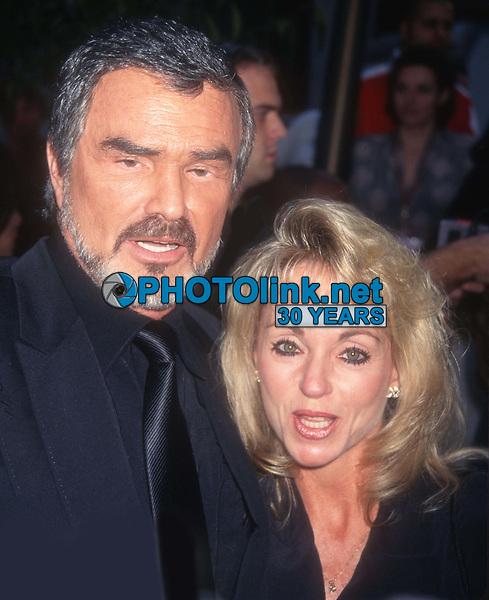 Burt Reynolds Pam Seals 1997<br /> Photo By John Barrett/PHOTOlink