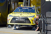 12-13 February, 2016, Daytona Beach, Florida, USA<br /> The car of Matt Kenseth, Dollar General Toyota Camry is prepared for the Sprint Unlimited race.<br /> ©2016, F. Peirce Williams