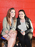 Ciara O'Toole and Lena Remidianaks pictured at the St. John's Ambulance band night in Mell parish hall. Photo:Colin Bell/pressphotos.ie