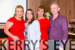 Katie Mc Quinn, Tres Mc Quinn, Norma Mc Que, Andy Mc Que  at the Austin Stacks GAA Corporate Lunch Fundraiser in aid of the development programme in Ballygarry Hotel on friday