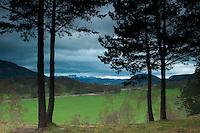 Lochnagar from Cambus o' May, Aberdeenshire