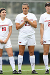 07 September 2014: Arkansas' Lindsey Mayo. The University of North Carolina Tar Heels played the University of Arkansas Razorbacks at Koskinen Stadium in Durham, North Carolina in a 2014 NCAA Division I Women's Soccer match. UNC won the game 2-1.