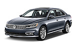 2016 Volkswagen Passat 3.6L-SEL-Premium-Auto 4 Door Sedan Angular Front stock photos of front three quarter view