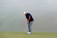 Steve Stricker (USA) putts on the 9th hole as the fog sets in behind him during the Wednesday practice round of the 118th U.S. Open Championship at Shinnecock Hills Golf Club in Southampton, NY, USA. 13th June 2018.<br /> Picture: Golffile | Brian Spurlock<br /> <br /> <br /> All photo usage must carry mandatory copyright credit (&copy; Golffile | Brian Spurlock)