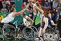 Desiree Miller (USA),<br /> SEPTEMBER 16, 2016 - Wheelchair Basketball : <br /> Women's Final match between USA 62-45 Germany<br /> at Rio Olympic Arena<br /> during the Rio 2016 Paralympic Games in Rio de Janeiro, Brazil.<br /> (Photo by Shingo Ito/AFLO)