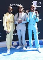 LOS ANGELES, CA - JUNE 23: Migos at the 2019 BET Awards at the Microsoft Theater in Los Angeles on June 23, 2019. Credit: Faye Sadou/MediaPunch