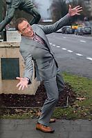 Jean-Claude Van Damme promotes his new serie ' Jean-Claude Van Damme Johnson ' - Belgium