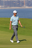 Lucas Bjerregaard (DEN) during the first round of the NBO Open played at Al Mouj Golf, Muscat, Sultanate of Oman. <br /> 15/02/2018.<br /> Picture: Golffile | Phil Inglis<br /> <br /> <br /> All photo usage must carry mandatory copyright credit (&copy; Golffile | Phil Inglis)