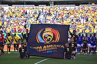 Action photo during the match Ecuador vs Haiti at MetLife Stadium Copa America Centenario 2016. ---Foto  de accion durante el partido Ecuador vs Haiti, En el Estadio MetLife Partido Correspondiante al Grupo - B -  de la Copa America Centenario USA 2016, en la foto: <br /> -- 12/06/2016/MEXSPORT/Javier Ramirez.