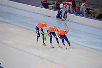 SPEEDSKATING: SOCHI: Adler Arena, 24-03-2013, Essent ISU World Championship Single Distances, Day 4, Team Pursuit Men, © Martin de Jong
