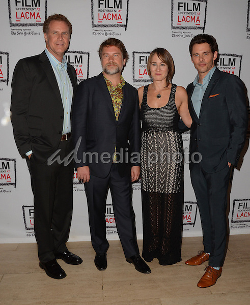 "30 April 2015 - Los Angeles, California - Will Ferrell, Eliot Laurence, Shira Piven, James Marsden. The Film Independent at LACMA special screening of ""Welcome to Me"" held at The Los Angeles County Museum of Art. Photo Credit: Birdie Thompson/AdMedia"