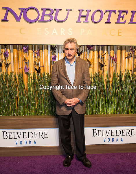 LAS VEGAS, NV - April 28: Robert De Niro pictured at NOBU HOTEL Grand Opening Event at Caesars Palace on April 28, 2013 in Las Vegas, NV. ..Credit: MediaPunch/face to face..- USA, Germany, Austria, Switzerland, Australia, UK, Sweden, Estonia, Latvia, Lithuania, Eastern Europe, Taiwan, Singapore, China, Malaysia and Thailand rights only -