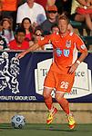 02 June 2012: Carolina's Cory Elenio. The Carolina RailHawks defeated the Puerto Rico Islanders 2-1 at WakeMed Soccer Stadium in Cary, NC in a 2012 North American Soccer League (NASL) regular season game.