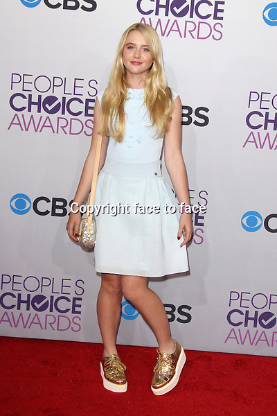 Kathryn Newton at the 39th Annual People's Choice Awards at Nokia Theatre L.A. Live, Los Angeles, California, 09.01.2013...Credit: MediaPunch/face to face..- Germany, Austria, Switzerland, Eastern Europe, Australia, UK, USA, Taiwan, Singapore, China, Malaysia and Thailand rights only -