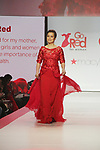 As The World Turns' Lea Salonga sang and walk the red carpet and runway - American Heart Association's Go Red for Women Red Dress Collection 2018 presented by Macy's on February 8, 2018 at Hammerstein Ballroom, New York City, New York  (Photo by Sue Coflin/Max Photo)