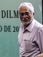 SAO PAULO, SP, 20 FEVEREIRO 2013 - 10 ANOS DO PT NO GOVERNO DEMOCRATICO E POLULAR - Jose Genuino durante evento de 10 anos do PT (Partido dos Trabalhadores) no Governo Democrático e Popular na regiao norte da cidade de Sao Paulo. O evento do PT é o lançamento de uma série de seminários temáticos organizados pelo partidoem parceria com o Instituto Lula ea Fundação Perseu Abramo, para comemorar eavaliar os 10 anos de governo desde a posse de Lula, em 2003. FOTO: WILLIAM VOLCOV - BRAZIL PHOTO PRESS