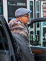 www.acepixs.com<br /> <br /> March 6 2017, New York City<br /> <br /> Samuel L Jackson made an appearance at AOL Build on March 6 2017 in New York City<br /> <br /> By Line: Curtis Means/ACE Pictures<br /> <br /> <br /> ACE Pictures Inc<br /> Tel: 6467670430<br /> Email: info@acepixs.com<br /> www.acepixs.com