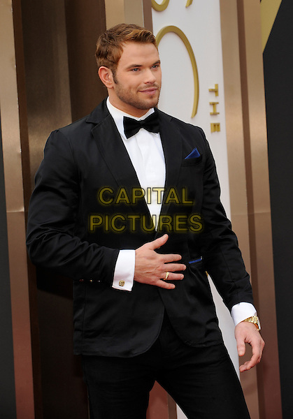 HOLLYWOOD, CA - MARCH 2: Kellan Lutz arriving to the 2014 Oscars at the Hollywood and Highland Center in Hollywood, California. March 2, 2014.  <br /> CAP/MPI/mpi99<br /> &copy;mpi99/MediaPunch/Capital Pictures