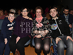 Andrew Lynch Clerkin, Sarah Lynch, Sharon and Matthew Murphy at the Elvis show in the Barbican Centre. Photo:Colin Bell/pressphotos.ie