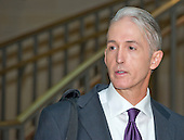 United States Representative Trey Gowdy (Republican of South Carolina), Chairman of a US House Select Committee to investigate the 2012 Benghazi attack, arrives in the US Capitol in Washington, DC on Thursday, September 3, 2015 to preside over the deposition of Cheryl Mills. <br /> Credit: Ron Sachs / CNP<br /> (RESTRICTION: NO New York or New Jersey Newspapers or newspapers within a 75 mile radius of New York City)<br /> (RESTRICTION: NO New York or New Jersey Newspapers or newspapers within a 75 mile radius of New York City)