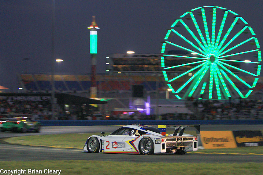 Rolex 24 at Daytona, Daytona International Speedway, January 2013. (Photo by Brian Cleary/www.bcpix.com)