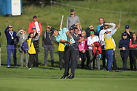 Haydn Porteous (RSA) on the 17th fairway during Round 4 of the D+D Real Czech Masters at the Albatross Golf Resort, Prague, Czech Rep. 03/09/2017<br /> Picture: Golffile   Thos Caffrey<br /> <br /> <br /> All photo usage must carry mandatory copyright credit     (&copy; Golffile   Thos Caffrey)