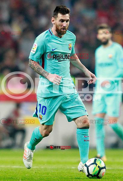 FC Barcelona's Leo Messi during La Liga match. October 14,2017. (ALTERPHOTOS/Acero) /NortePhoto.com