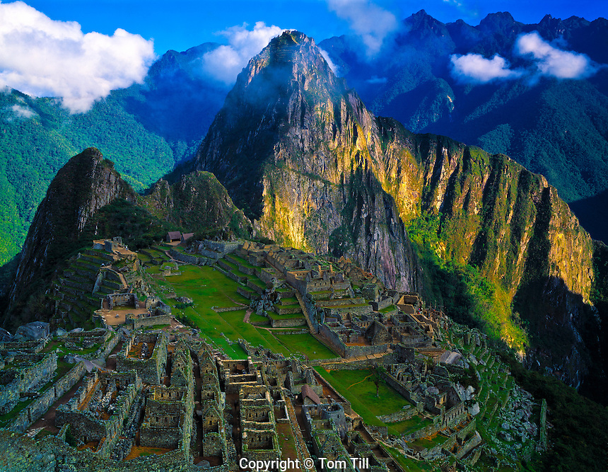 Machu Picchu  Andes Mountains, Peru  Machu Picchu National Park  Lost city of the Incas  Inca Trail  Urumbamba River District  1911