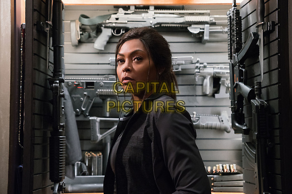 Proud Mary (2018) <br /> Mary (Taraji P. Henson) prepares for a &quot;business meeting&quot;-- and execution <br /> *Filmstill - Editorial Use Only*<br /> CAP/KFS<br /> Image supplied by Capital Pictures