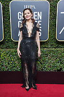 Geena Davis arrives at the 75th Annual Golden Globes Awards at the Beverly Hilton in Beverly Hills, CA on Sunday, January 7, 2018.<br /> *Editorial Use Only*<br /> CAP/PLF/HFPA<br /> &copy;HFPA/PLF/Capital Pictures