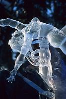 Ice sculptor Junichi Nakamura, Japan, World Ice Sculpting Competition, Fairbanks, Alaska