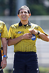 28 August 2016: Fourth Official Abbas Piran. The Elon University Phoenix played the University of San Diego Toreros at Koskinen Stadium in Durham, North Carolina in a 2016 NCAA Division I Men's Soccer match. USD won the game 2-1.