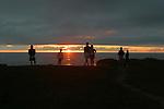 Sunset, headlands north of Fort Bragg