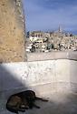 View of the Sasso Caveoso from the balcony next to Palazzo Lanfranchi, Matera, Italy. &copy; Carlo Cerchioli<br /> <br /> Veduta del Sasso Caveoso dalla balconata a fianco di Palazzo Lanfranchi, Matera, Italia.