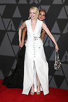 HOLLYWOOD, CA - NOVEMBER 11: Emma Stone, Jennifer Lawrence at the AMPAS 9th Annual Governors Awards at the Dolby Ballroom in Hollywood, California on November 11, 2017. <br /> CAP/MPI/DE<br /> &copy;DE/MPI/Capital Pictures