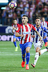 Atletico de Madrid's Angel Correa during the match of La Liga Santander between Atletico de Madrid and Deportivo Alaves at Vicente Calderon Stadium. August 21, 2016. (ALTERPHOTOS/Rodrigo Jimenez)