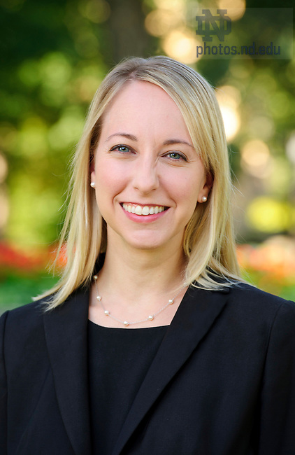 September 12, 2012; Ann Hastings, Asst. Dir., Marketing Communications. Photo by Barbara Johnston/University of Notre Dame