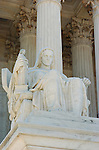 Contemplation of Justice, James Earle Fraser 1935, Supreme Court Building, Washington DC