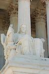 Contemplation of Justice, James Earle Fraser 1935, Supreme Court Building, Washington DC