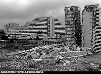 Scampia abbatimeno vele del  dicembre 1997 gennaio 1998