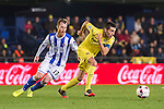 Bruno Soriano Llido (r) of Villarreal CF competes for the ball with David Zurutuza Veillet of Real Sociedad during their Copa del Rey 2016-17 Round of 16 match between Villarreal and Real Sociedad at the Estadio El Madrigal on 11 January 2017 in Villarreal, Spain. Photo by Maria Jose Segovia Carmona / Power Sport Images