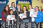 RAPID REVIEW: The Deputy Mayor Mairead Fernane launching this year KDYS Rapid Review Youth Edition at KYDS, Tralee on Thursday l-r: Kathleen Higgins (KDYS Community Youth Work co-ordinator), Zahra Mohammed, Ouvera Ivkovic, Deputy Mayor Mairead Fernane, Jelena Zoric, Roi?sin Evans-O'Brien and Nora Butler (KDYS Community Youth Information co-ordinator).
